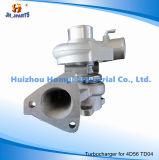 Turbocompresor para Mitsubishi 4D56 4D56T TD04 refrigerado por aceite 49177-01510