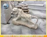 Standbeeld van de Tijger van het Beeldhouwwerk van de steen het Dierlijke