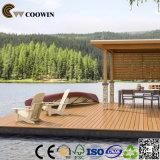 Étages en plastique en bois de patio d'utilisation extérieure chaude de ventes