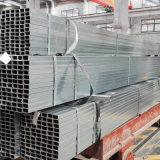 Tubo pre galvanizado de la sección de la depresión del cuadrado del acero suave