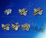 Adaptadores híbridos de fibra óptica SC-FC