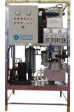 1000kg/Day Machine van de Installatie van het Ijs van de Apparatuur van de Machines van het Ijs van de buis de Industriële