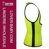 Het Overhemd van het Vest van de Sporten van de Sauna van Shapewear van de Trainer van de taille (l42657-4)