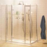 O painel Inline tradicional do estilo 2 X & o painel lateral articularam o quarto de chuveiro da porta do chuveiro