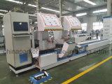 CNC van het Profiel van het aluminium de Dubbele Hoofd Willekeurige Zaag van het Knipsel van de Hoek