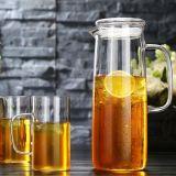 ガラスやかんガラスジュースの鍋の水差しの植木鉢の水差しジュースの水差しガラスの水差しをカスタマイズしなさい