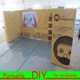Cabina versátil reutilizable portable y fabricación de la exposición