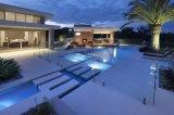 プールの正方形のガラス手すりによって使用される屋外を&Swimming庭の塀(CR-A08)