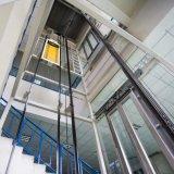 Le passager / hôtel / Résidentiel / bâtiment/Observation Ascenseur dans Décoration Maison Villa de la machine de traction de levage avec voiture en bois et verre automobile et voiture de rétroviseur