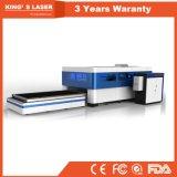 Machine de découpage de fibre optique du laser 500W de commande numérique par ordinateur de prix usine de la Chine pour le découpage en métal