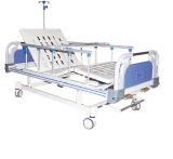 病院装置は3人の機能電気看護の就寝患者のベッドを使用した