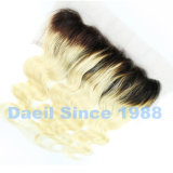 Chiusura cinese della parte anteriore del merletto degli accessori dei capelli umani