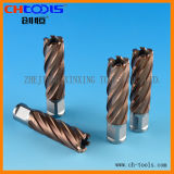 Пустотелое сверло высокоскоростной стали с хвостовиком Weldon (DNHP)