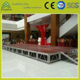 Etapa móvil al aire libre de la madera contrachapada del aluminio el 1.22m*1.22m del funcionamiento de Guangzhou China