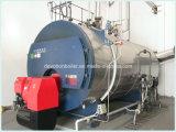 Horizontales Gas, Öl, Doppelkraftstoff-Dampfkessel mit europäischem Brenner