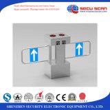 Movimento duplo Segurança Turnstile com leitor RFID Sistema de Gestão de Visitantes