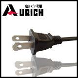 Штепсельная вилка UL AWG NEMA 5-15p 5-15r электрического провода силового кабеля AC