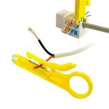 Kit de conexión en red con herramienta de engarzado y probador
