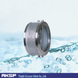 Pn10/Pn16/Cast Eisen/duktiles Iron/Wcb/EPDM/NBR/Swing /Dual Plate/Single Tür-Oblate-Rückschlagventil