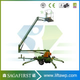 10m Sale를 위한 14m Aerial Hydraulic Battery Articulated Boom Lift