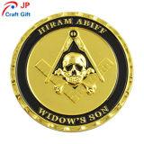 El cráneo de alta calidad personalizado prueba patrón Moneda para Souvenir