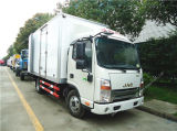 De 5tons Gekoelde Vrachtwagen van de Ijskast van de Diepvriezer Truck/4X2 van de Bestelwagen JAC 120HP Kleine