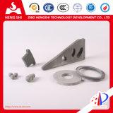 Produtos do nitreto de silicone irregular da estrutura usado na indústria