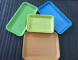 Pequeño rectángulo de almacenaje plástico de empaquetado biodegradable del compartimiento para el alimento