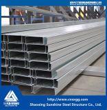 Aço de Alta Qualidade Tipo C para terça na construção das estruturas de aço