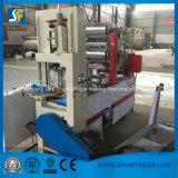 Shunfu 제지 기계 공장에서 냅킨 서류상 돋을새김 기계