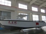 barco de pesca de alumínio superior 8.6m aberto da potência de 28FT