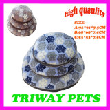 Amortiguador coralino cómodo suave del perro del terciopelo (WY161097-1A/C)