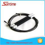 Corde de saut attrayante et durable de câble de vitesse avec le traitement en aluminium, corde de saut, corde de saut à grande vitesse réglable, corde de saut de Crossfit