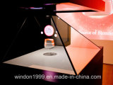 3D Hologram Showcase, Holographic Pyramid Box
