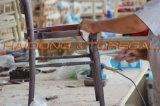 Silla amontonable de los acontecimientos del partido del salón de baile de Chiavari de madera sólida del color del oro