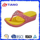 Pistoni di Swith Diamante di flip-flop della donna (TNK20014)