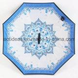 [هندفر] عكسيّة يعكس مظلة مع [ك] شكل مقبض مظلة ترويجيّ