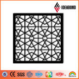 ¡Calidad excelente! Material compuesto de aluminio de la parrilla incombustible del CNC de Ideabond