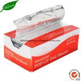 Pop-up лист алюминиевой фольги для пользы еды