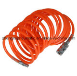 Orange Transparent-Blue&PU flexible en spirale (ID*OD: 5*8mm*6M)
