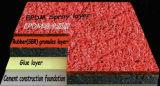 Школа игровая площадка резиновые/синтетических беговую дорожку с 13мм толщина Iaaf стандарт