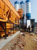 Mini venta de procesamiento por lotes por lotes concreta del equipo de la construcción de una fábrica en ultramar