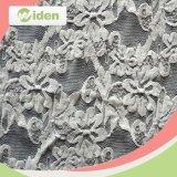 Acessórios de vestuário Tecido elástico de rendas de malha tricotada em nylon e spandex
