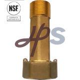 Sans plomb Laiton ou bronze forgeage compteur/tailpiece d'accouplement droite