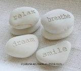 Pedra gravada para o desejo de palavras