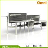Workstaton (OM-AD-055)の新しい高さの調節可能な表