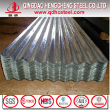Regelmäßiger Eisen-Metallgi-gewölbtes Dach-Blatt des Flitter-JIS G3302