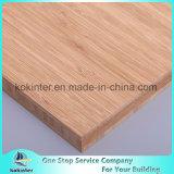 madeira compensada de bambu do bambu do painel da placa de bambu do caramelo do vertical de 20mm