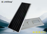 6500-7500K la haute performance Bridgelux ébrèche les réverbères solaires complets de DEL