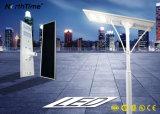 интегрированный свет улицы СИД солнечной силы 100W с Ce/RoHS